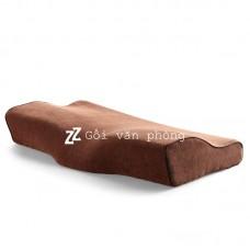 Vỏ gối ngủ cao su non 50x30cm loại có khe rãnh giữa